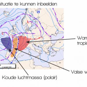 Kaart 1 KNMI