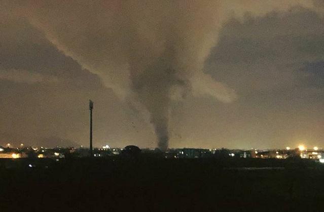 caserta tornado
